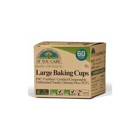 If You Care Large Baking Cup 60 Pack
