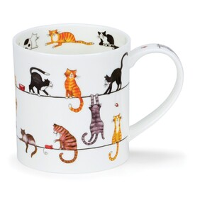 Dunoon Livewires Cats Mugs