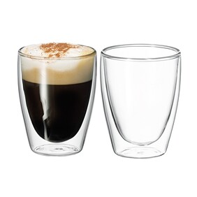 Avanti Caffe Twin Wall Glass - Set 2